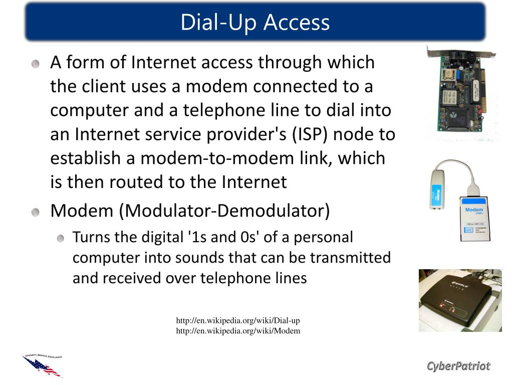Dial-Up Access