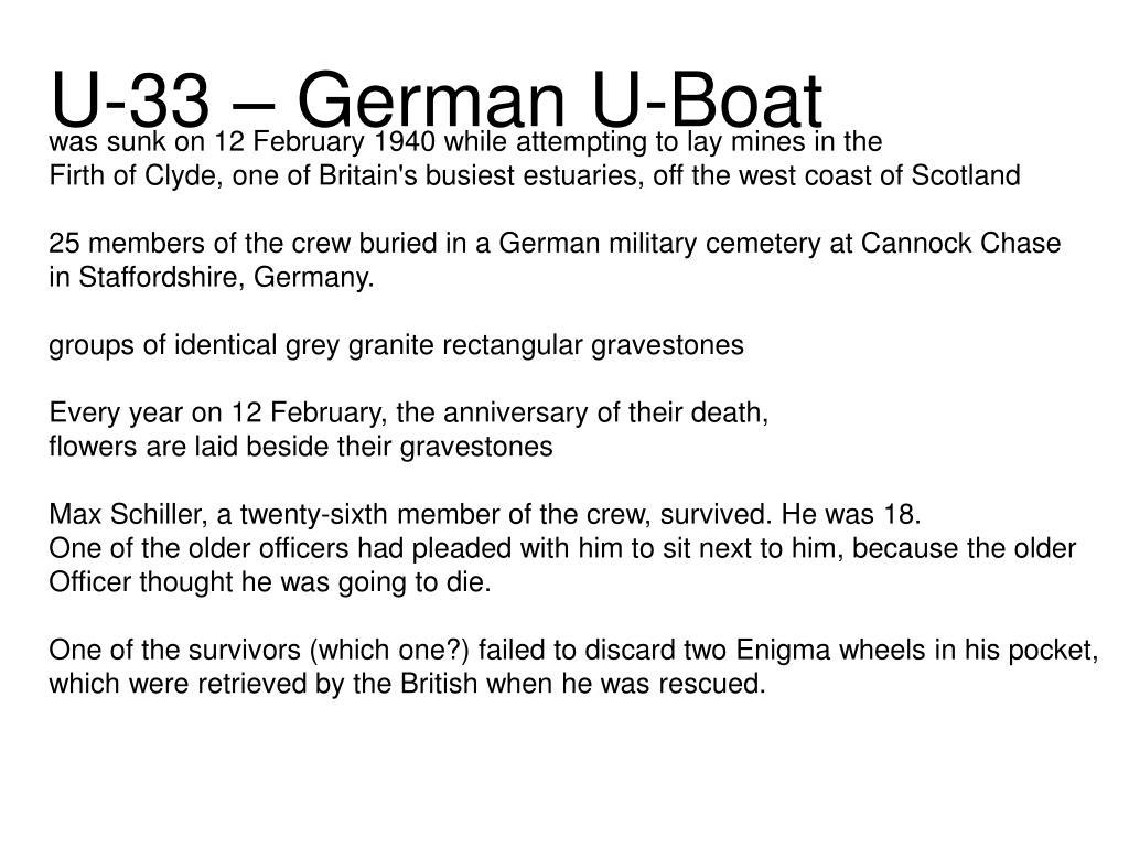 U-33 – German U-Boat