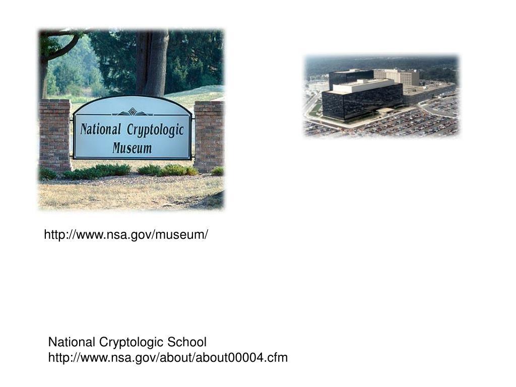 http://www.nsa.gov/museum/