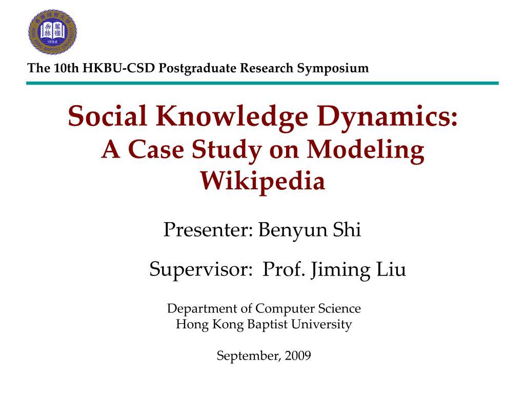 The 10th HKBU-CSD Postgraduate Research Symposium