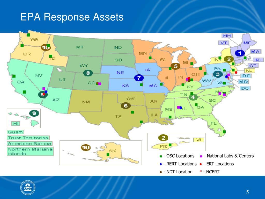 EPA Response Assets