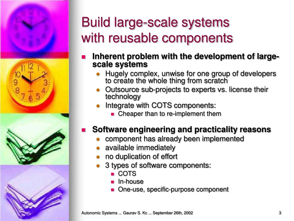 Build large-scale systems