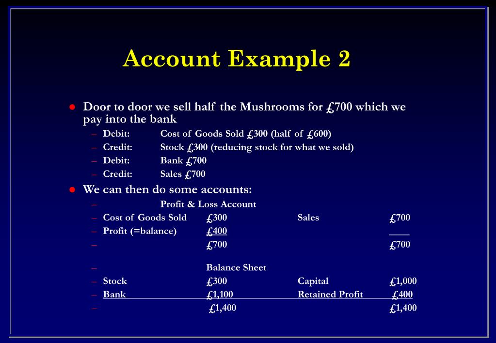 Account Example 2