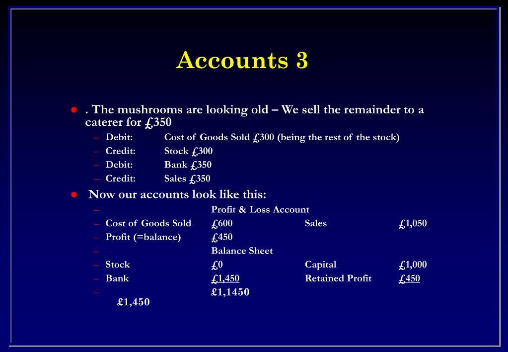 Accounts 3