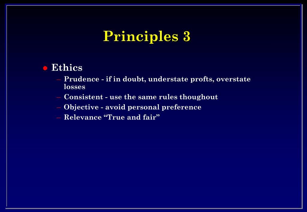 Principles 3