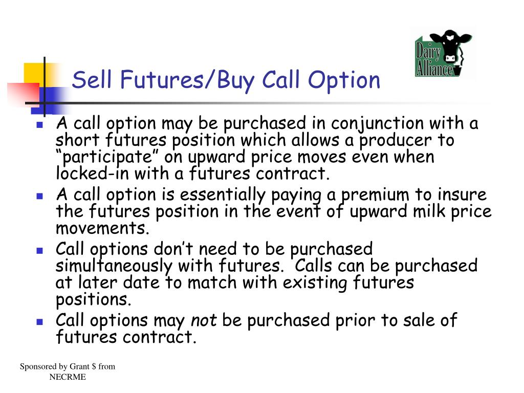 Sell Futures/Buy Call Option