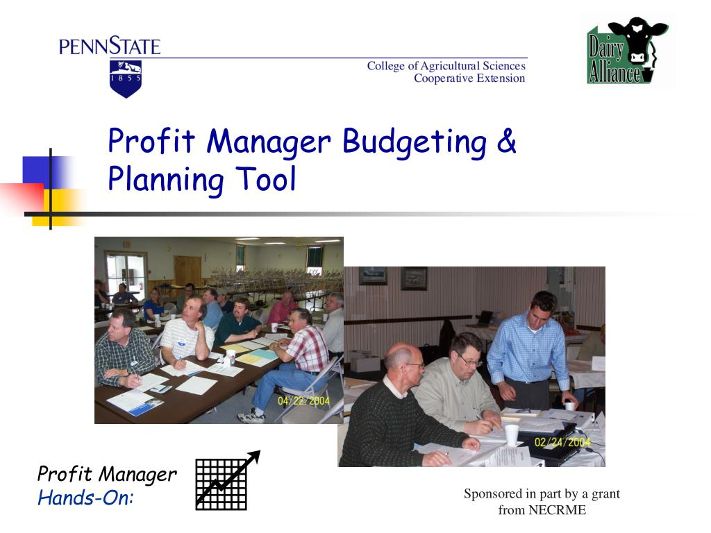 Profit Manager Budgeting & Planning Tool
