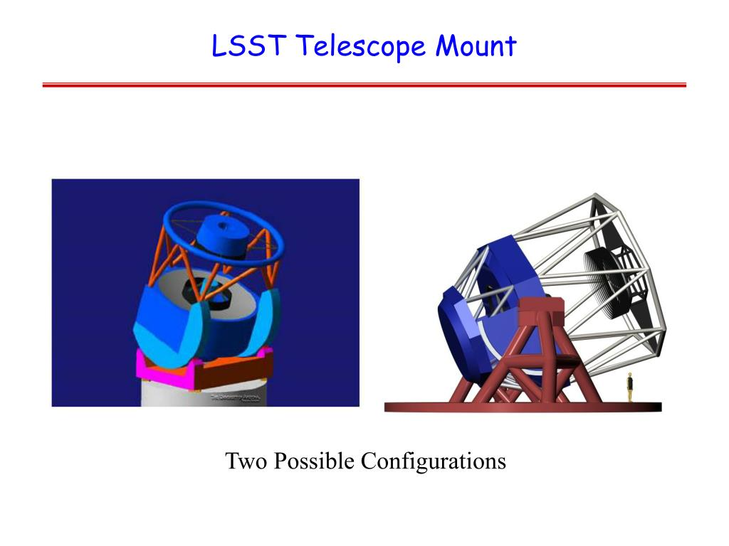 LSST Telescope Mount