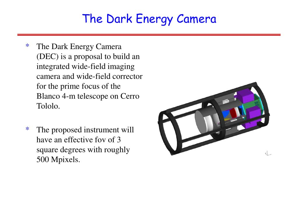 The Dark Energy Camera
