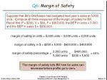 q6 margin of safety27