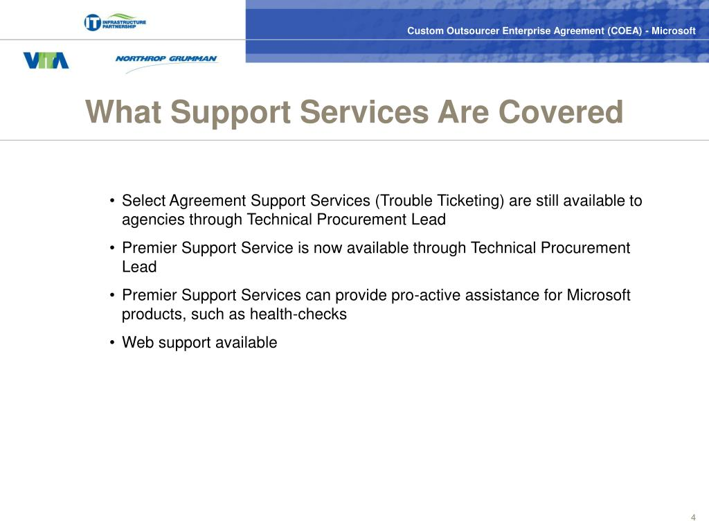 What Support Services Are Covered