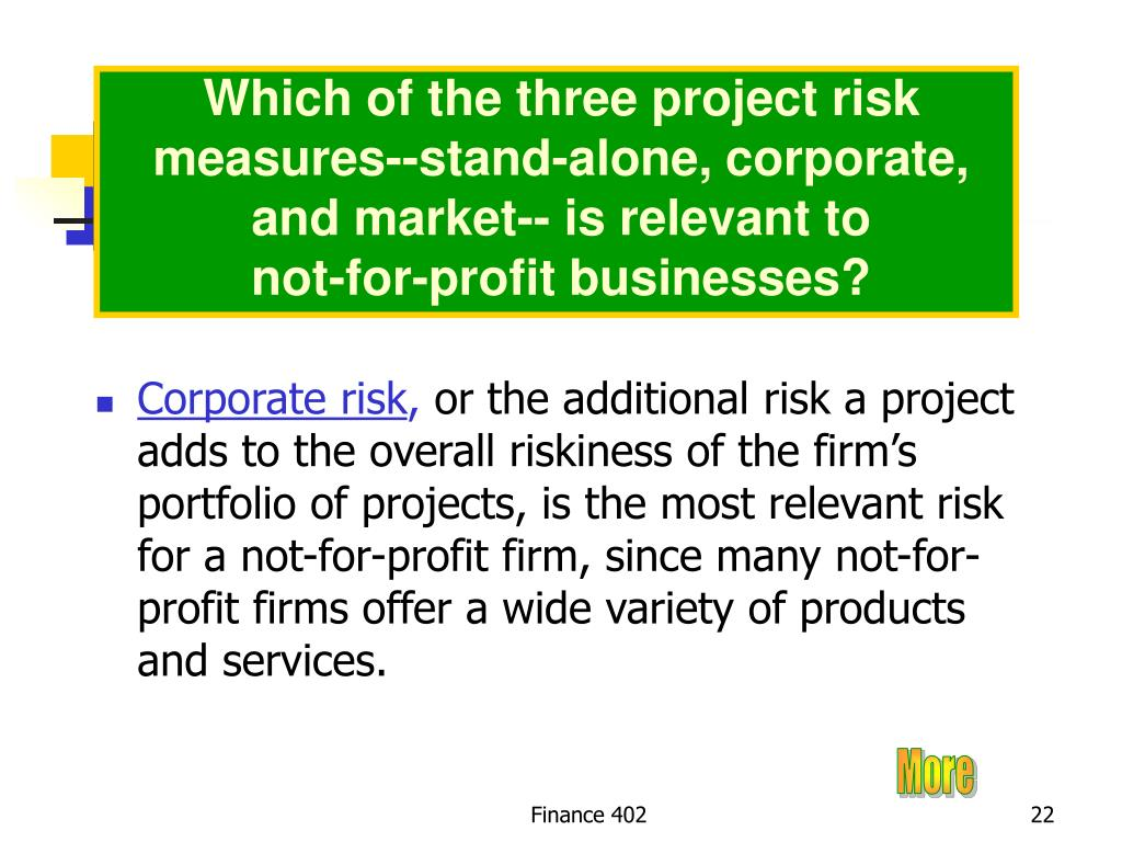 Which of the three project risk