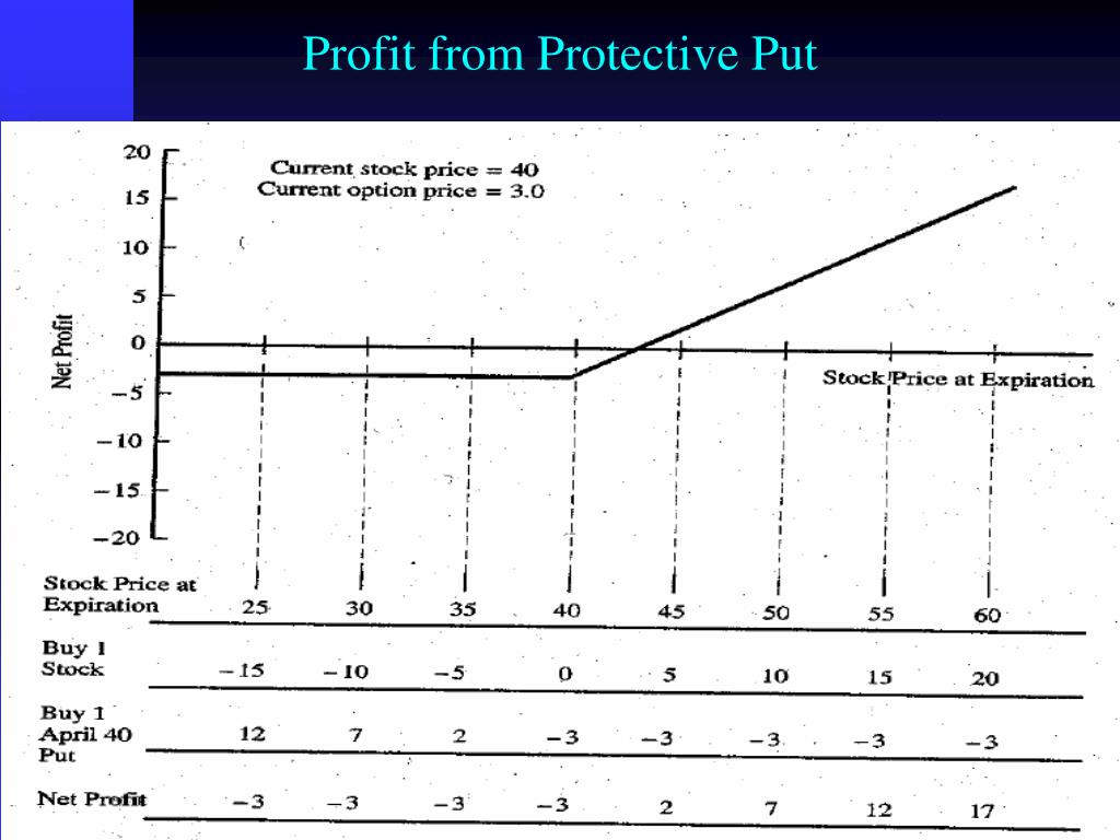 Profit from Protective Put