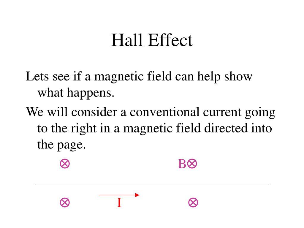 Hall Effect