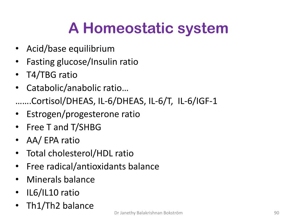 A Homeostatic system
