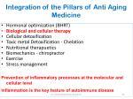 integration of the pillars of anti aging medicine