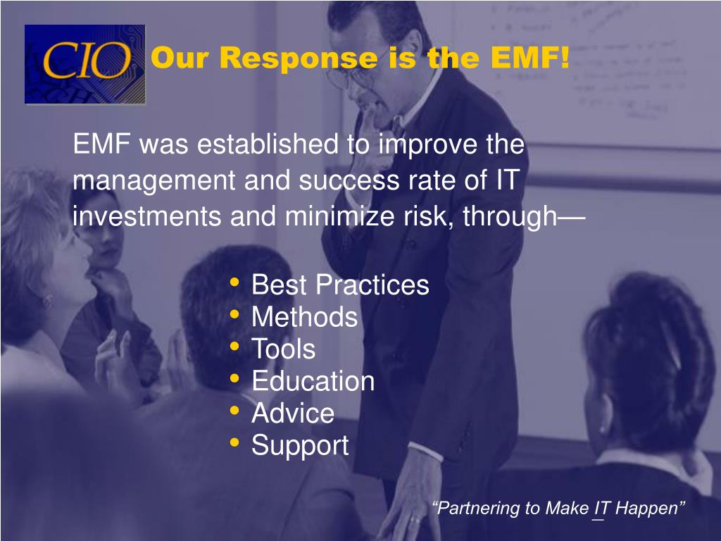 Our Response is the EMF!