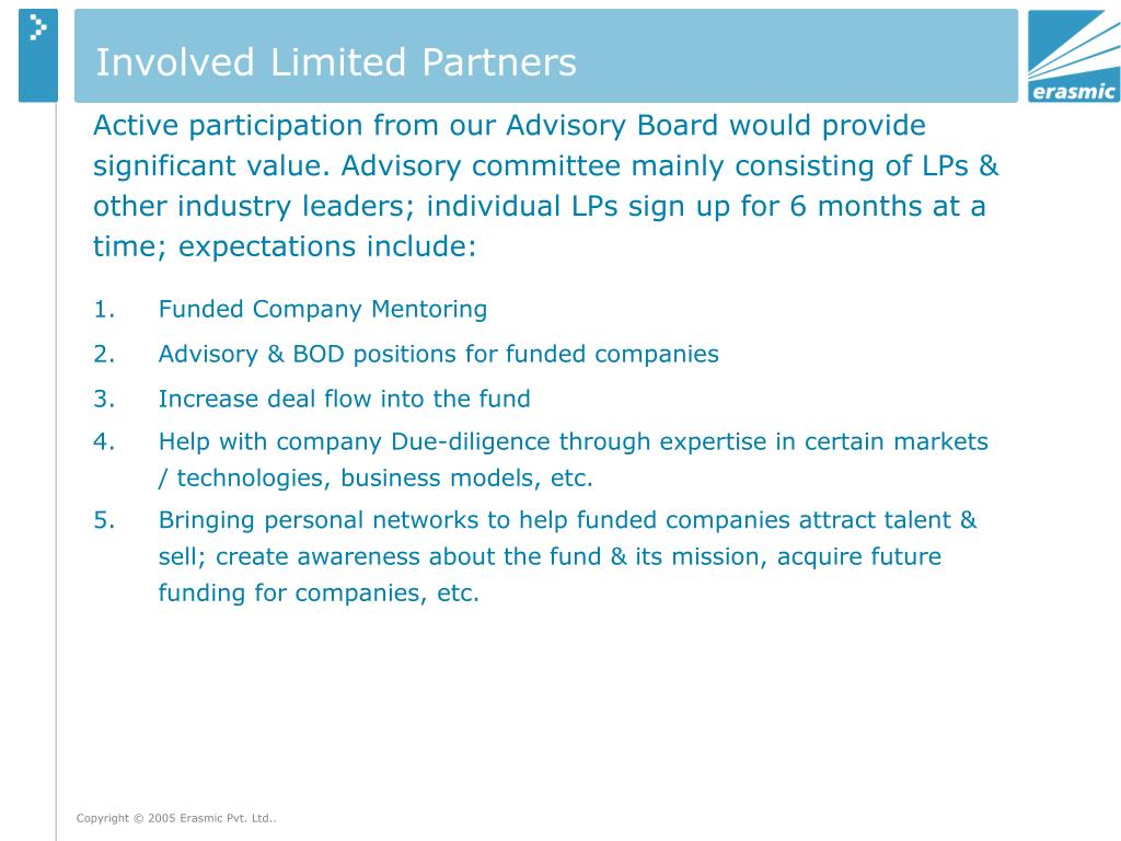 Involved Limited Partners