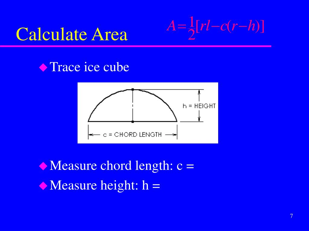 Calculate Area