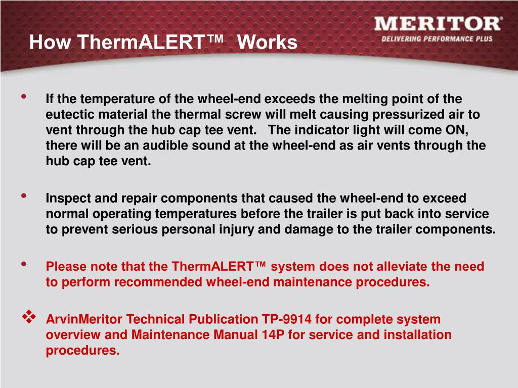 How ThermALERT™  Works