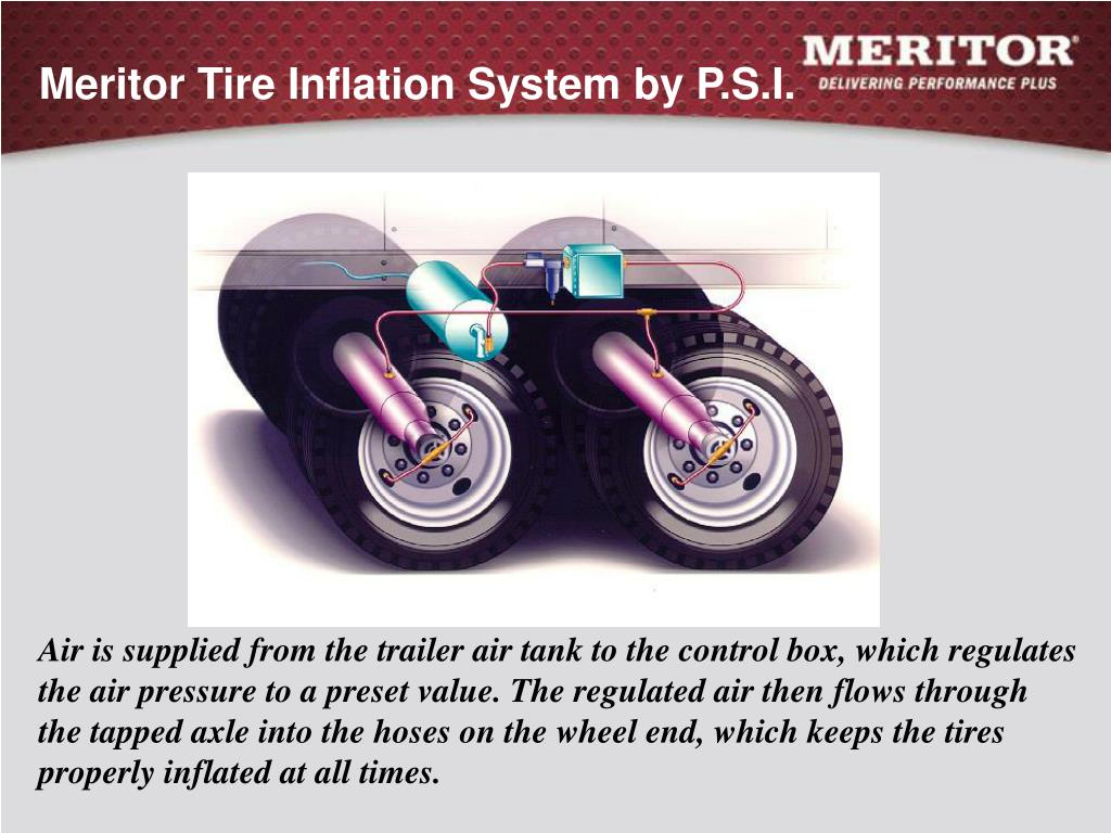 Meritor Tire Inflation System by P.S.I.