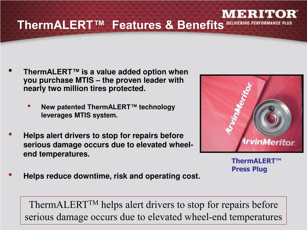 ThermALERT™  Features & Benefits