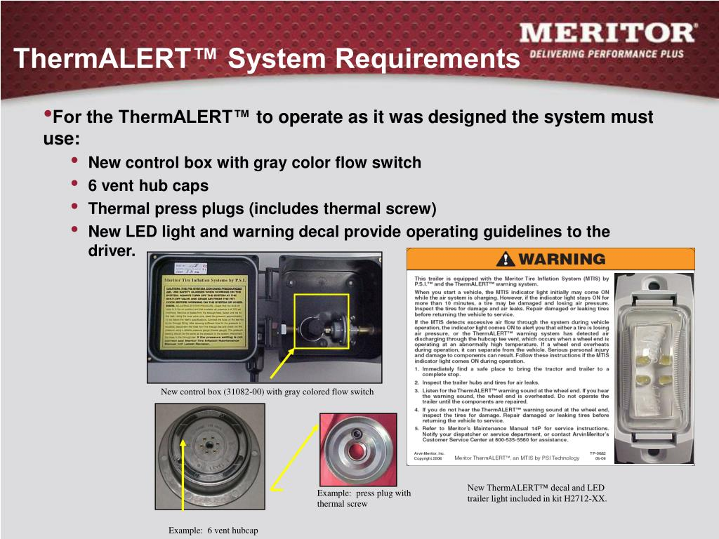 ThermALERT™ System Requirements