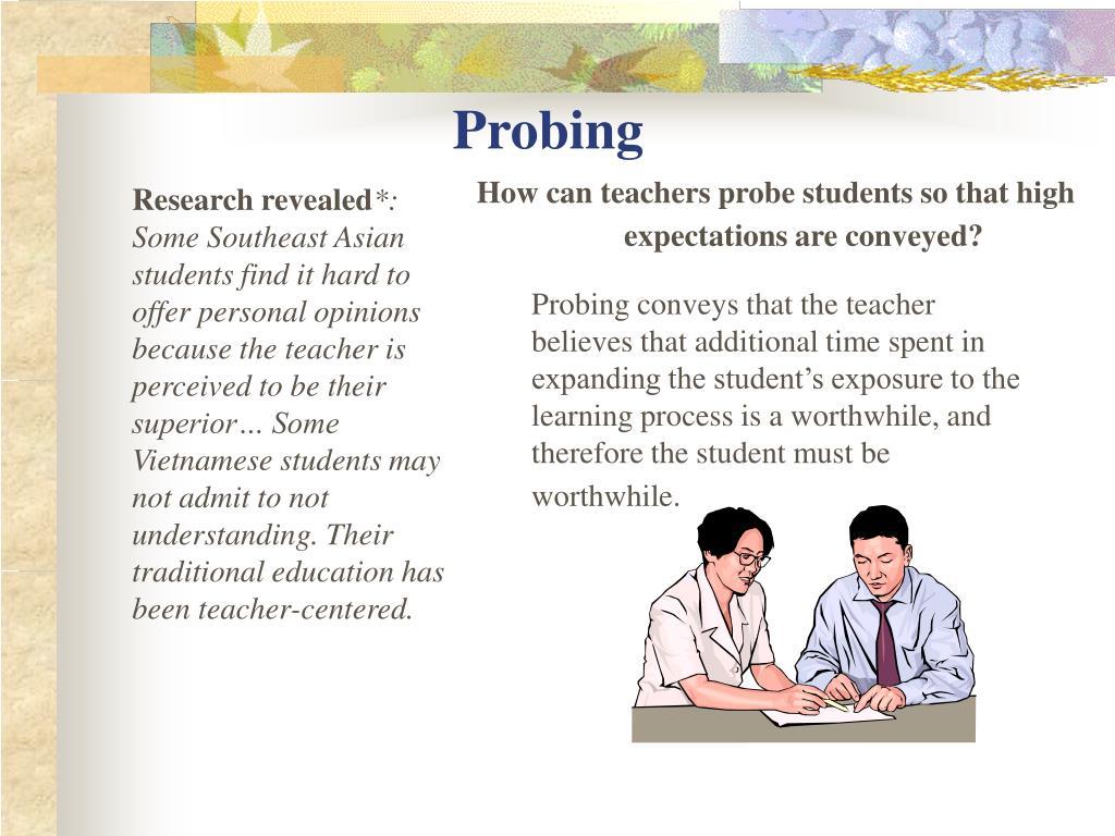 Probing