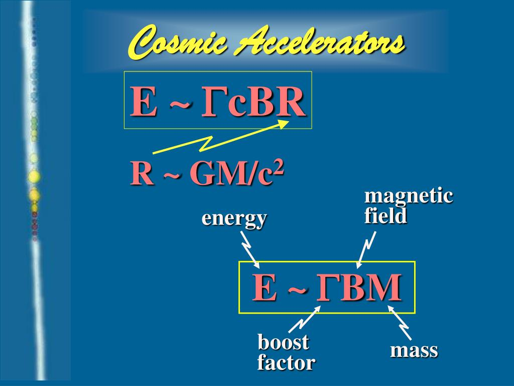 Cosmic Accelerators