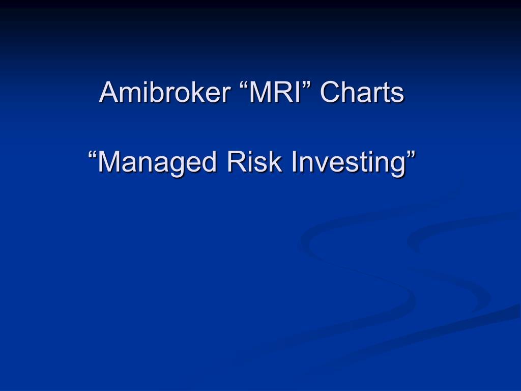 "Amibroker ""MRI"" Charts"