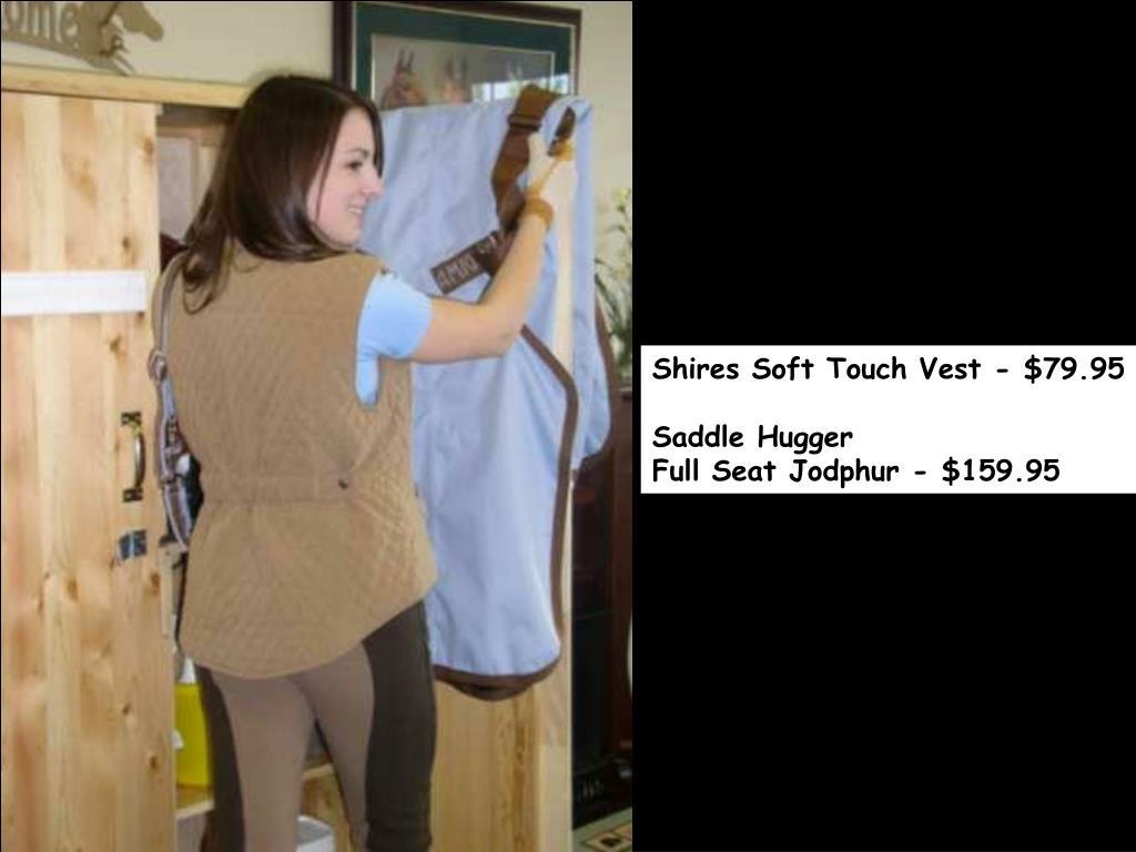 Shires Soft Touch Vest - $79.95