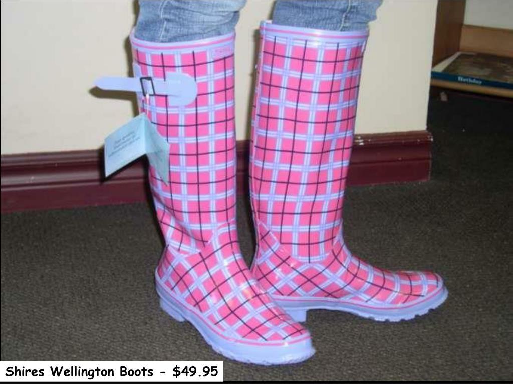 Shires Wellington Boots - $49.95