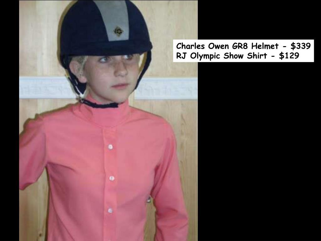 Charles Owen GR8 Helmet - $339