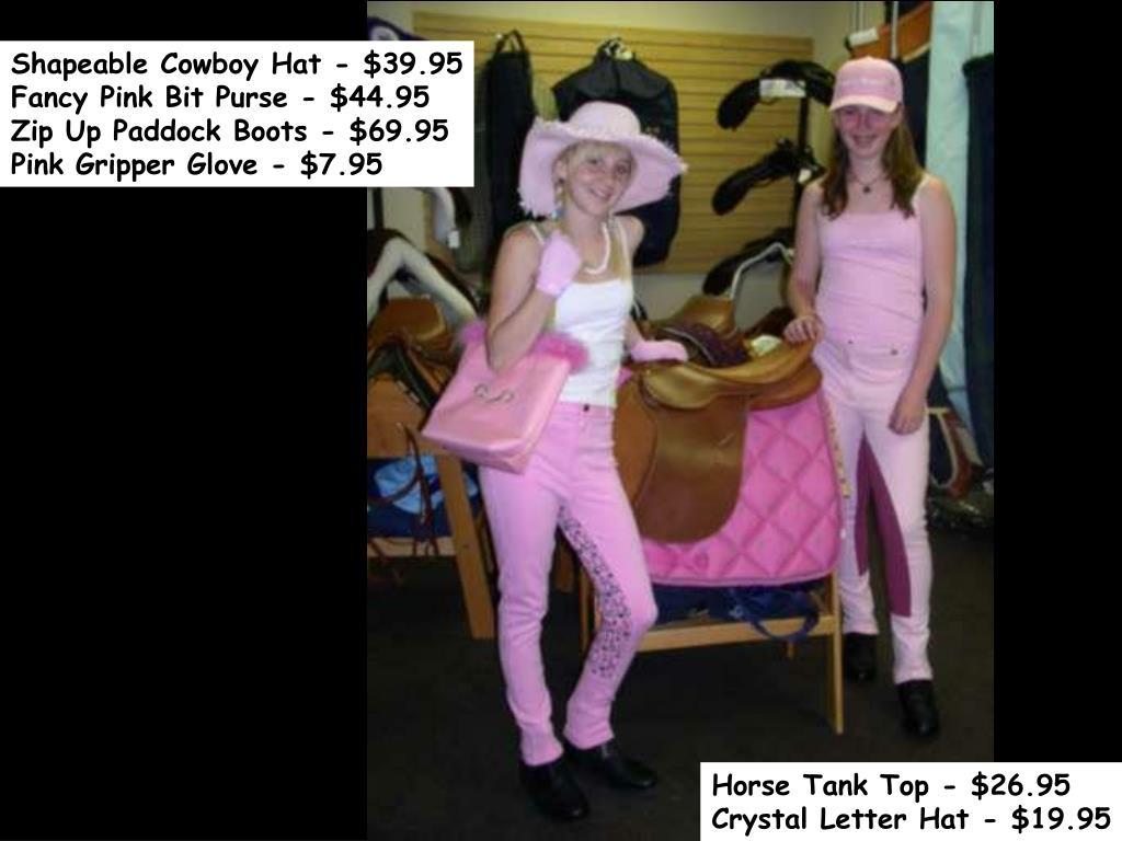 Shapeable Cowboy Hat - $39.95