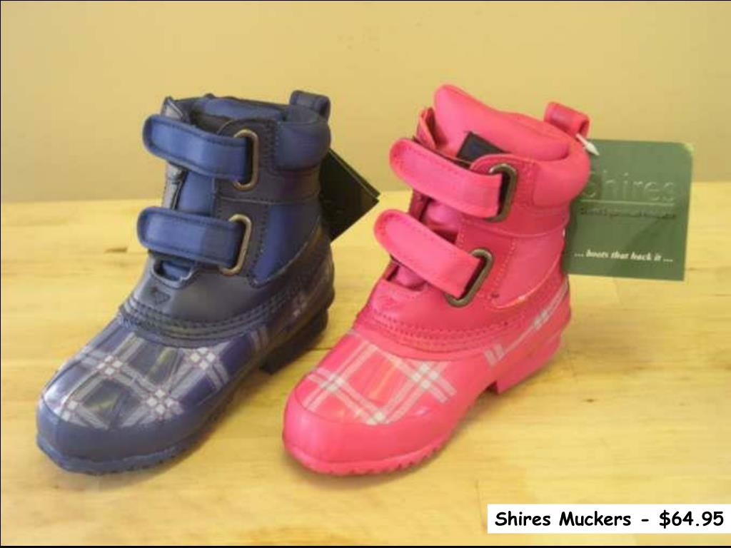 Shires Muckers - $64.95
