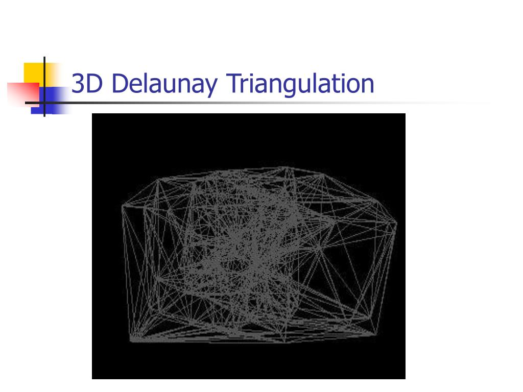 3D Delaunay Triangulation