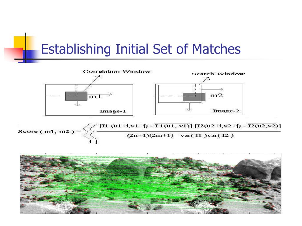 Establishing Initial Set of Matches