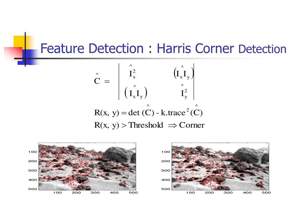 Feature Detection : Harris Corner