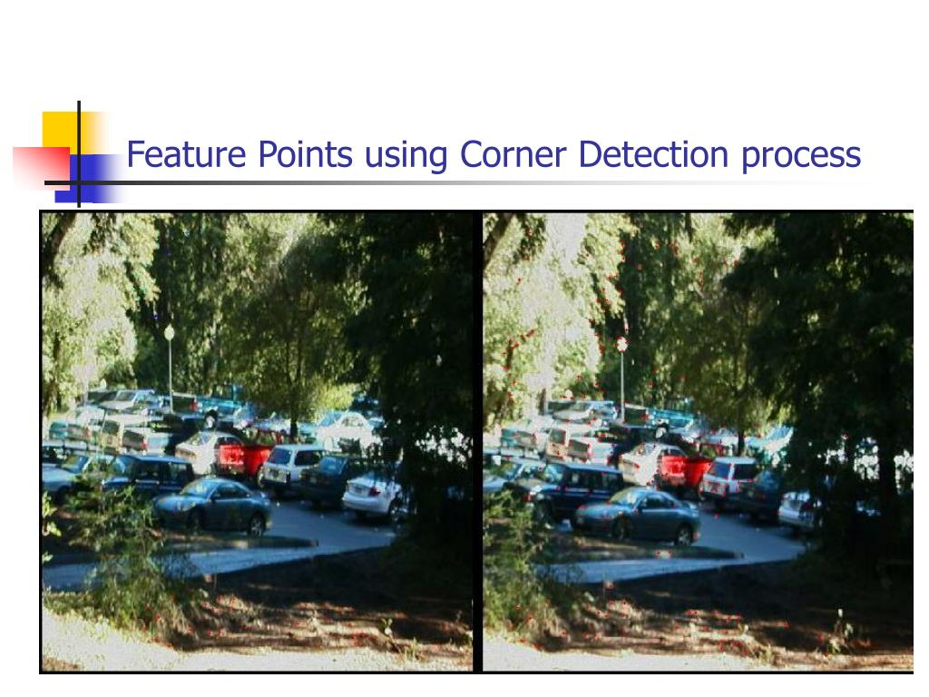 Feature Points using Corner Detection process