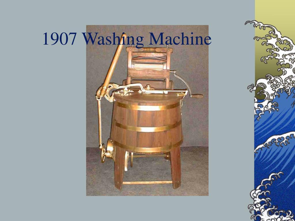 1907 Washing Machine