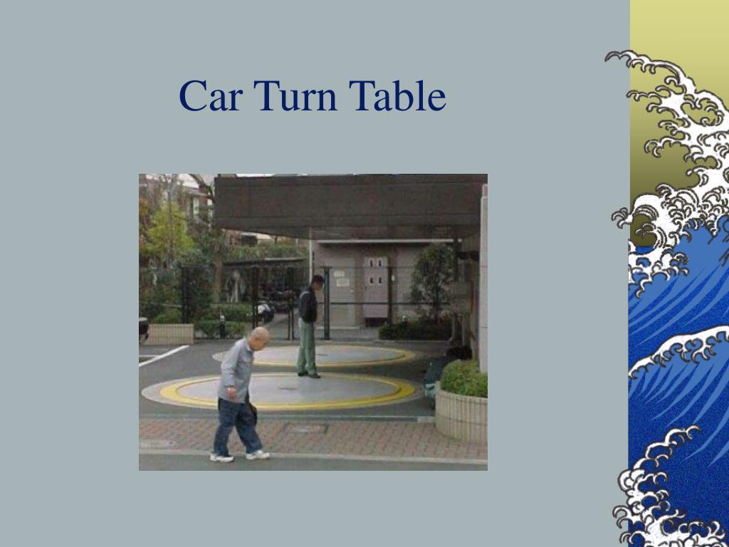 Car Turn Table