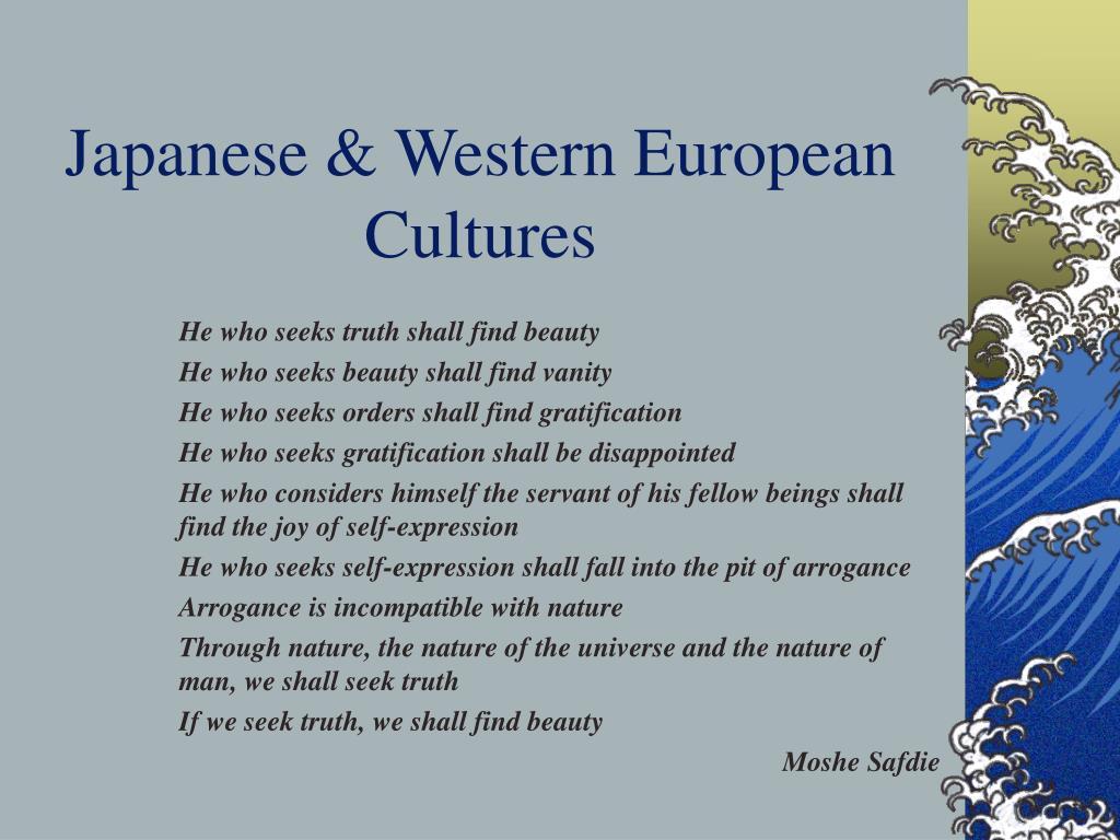 Japanese & Western European Cultures