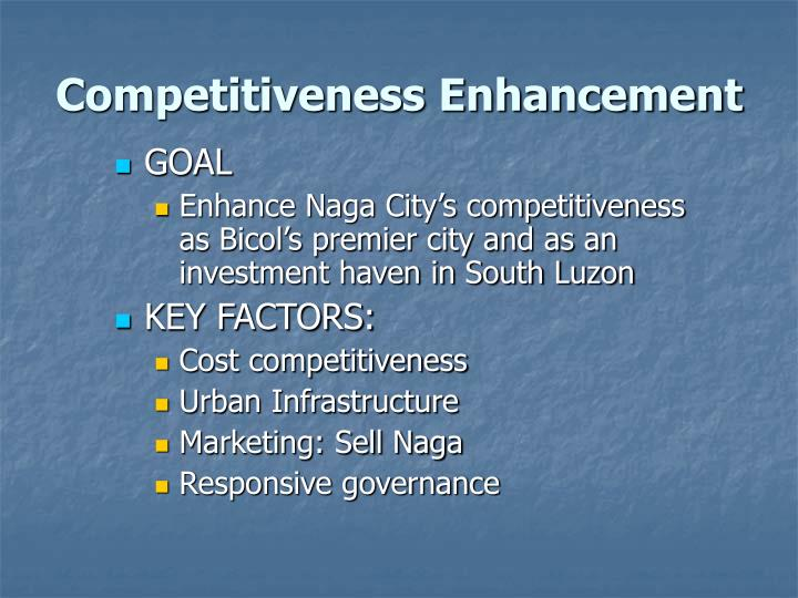 Competitiveness Enhancement