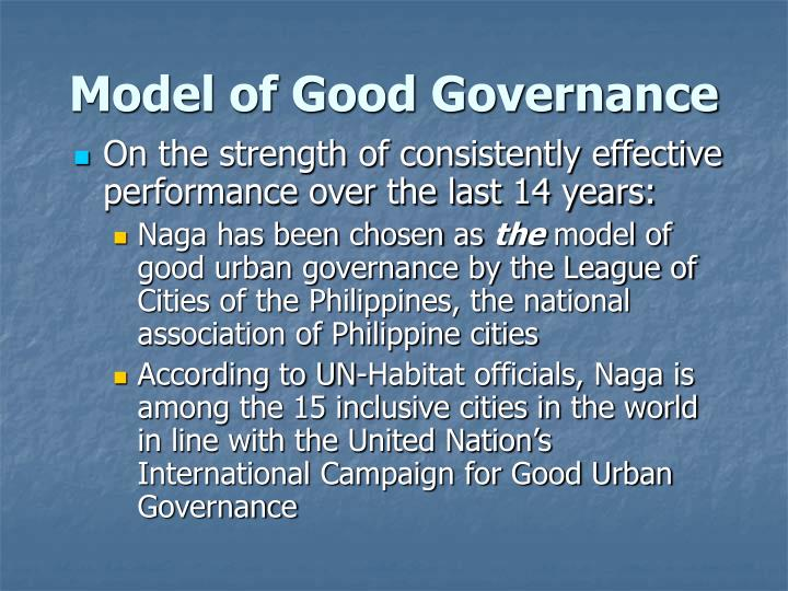 Model of Good Governance