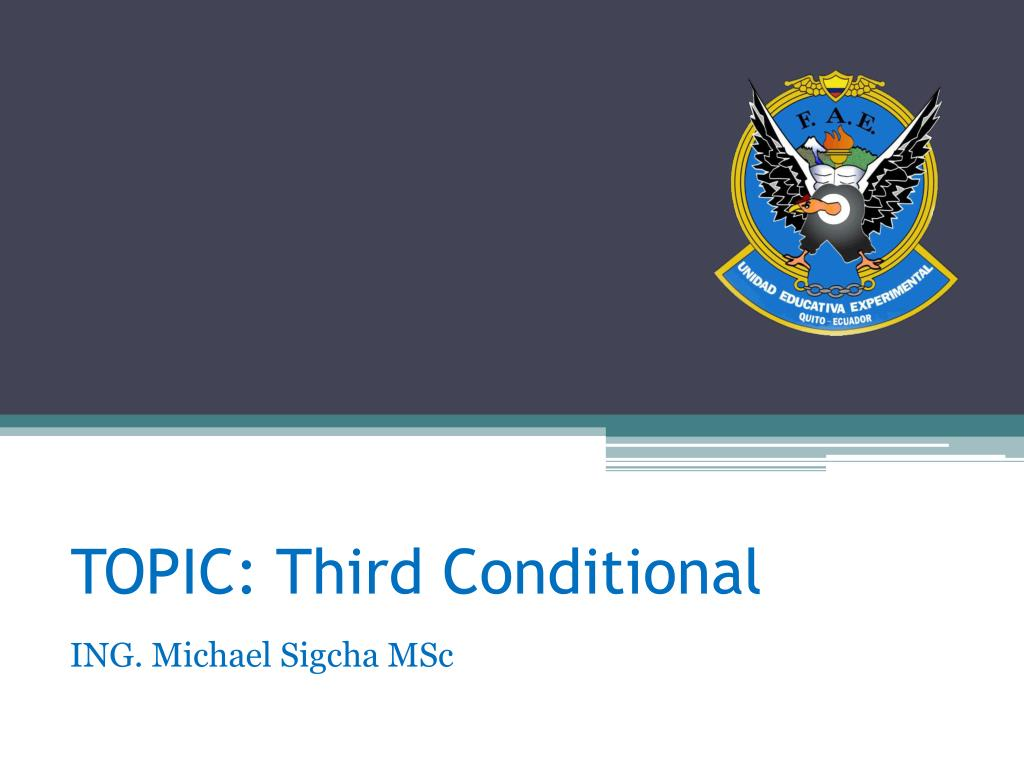 topic third conditional