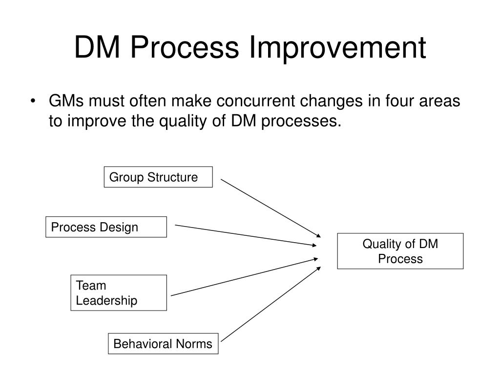 DM Process Improvement