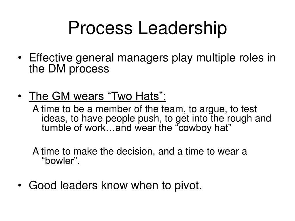 Process Leadership