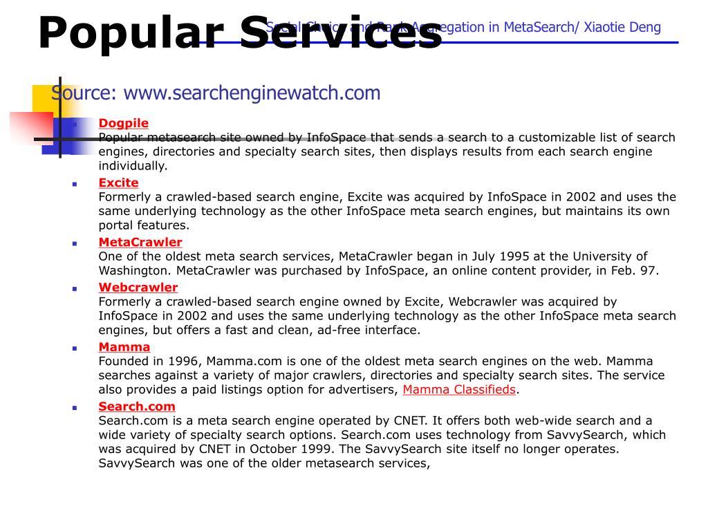 Popular Services
