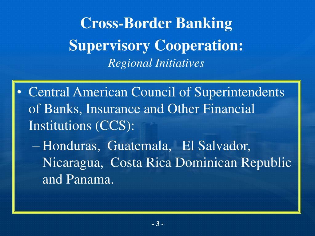 Cross-Border Banking