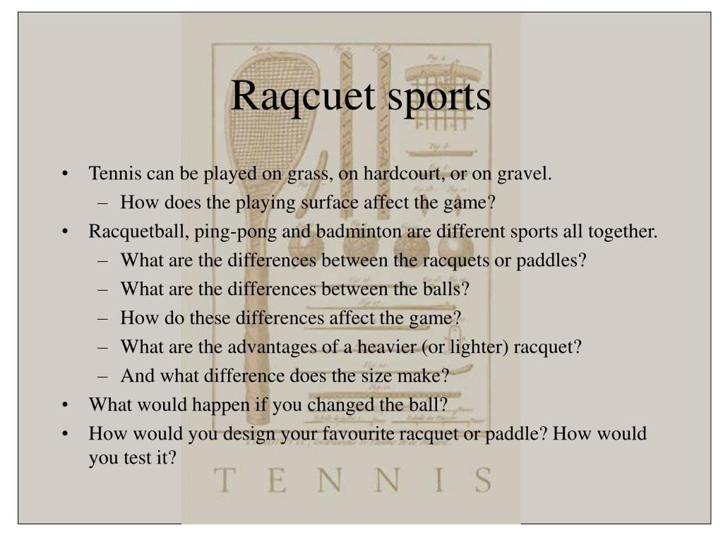 Raqcuet sports